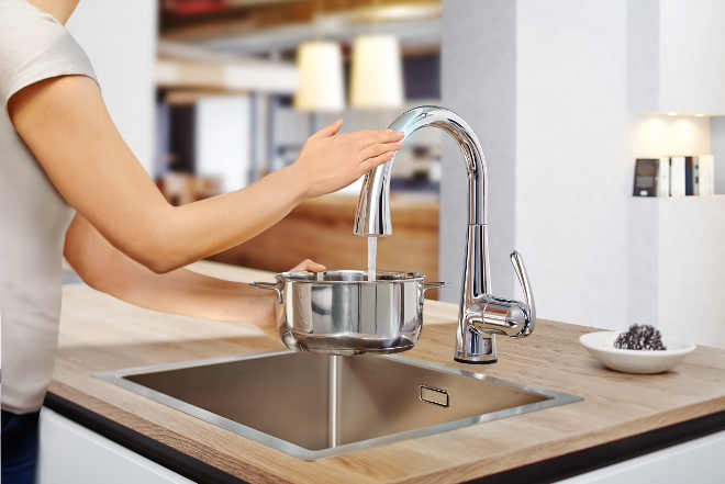 Zedra Touch manos libres grohe